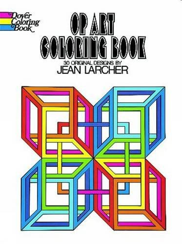 Souq | Op Art Coloring Book (Dover Design Coloring Books) | Kuwait