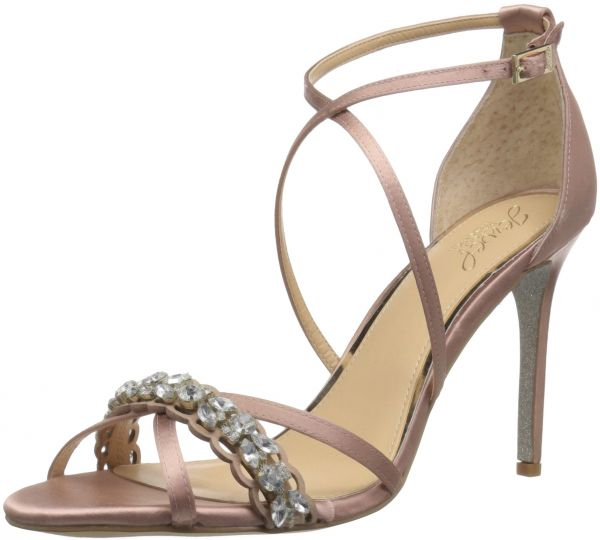 756273b7e8d Badgley Mischka Jewel Women s Gisele Heeled Sandal