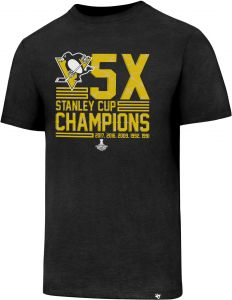competitive price 59de8 bfb44 NHL Pittsburgh Penguins 2017 Stanley Cup Champions Men s PP Club Tee, Jet  Black X Champs, Small