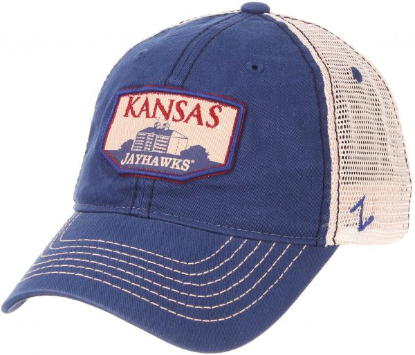 huge discount 4e20b c1fca 78cb4 154cc  real zephyr ncaa kansas jayhawks mens trademark relaxed cap  adjustable washed team white 06f1a d50b7