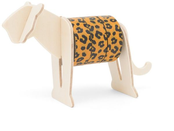Leopard Washi Tape and Holder