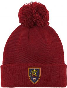 c9ca14fd5beee Outerstuff MLS Real Salt Lake Boys Cuffed Knit Hat with Pom