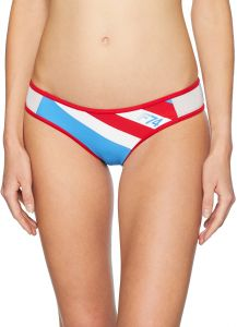74653bb7630c Fox Junior's Drafter Moderate Coverage Mesh Swim Bottom, Acid Blue, L