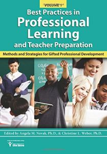 d28ae0daa16 Best Practices in Professional Learning and Teacher Preparation in Gifted  Education (Vol. 1)  Methods and Strategies for Gifted Professional  Development