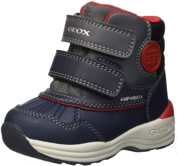 Geox New Gulp Boy ABX 4 Waterproof and Insulated Boot Ankle 722e5dc8038
