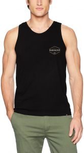 4fd93296e8074 Quiksilver Men s Logo Tank Top Tee Shirt