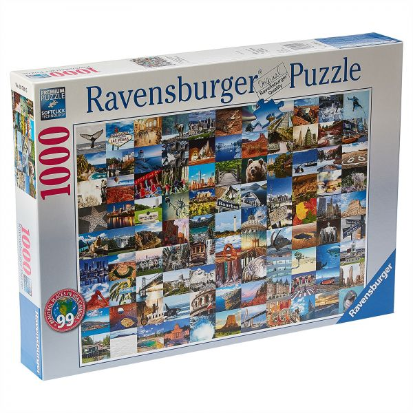 Ravensburger 99 Beautiful Places In The USA And Canada Puzzle