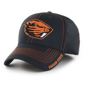 check out d5f75 b120f OTS NCAA Oregon State Beavers Adult Start Line Center Stretch Fit Hat,  Large X-Large, Black