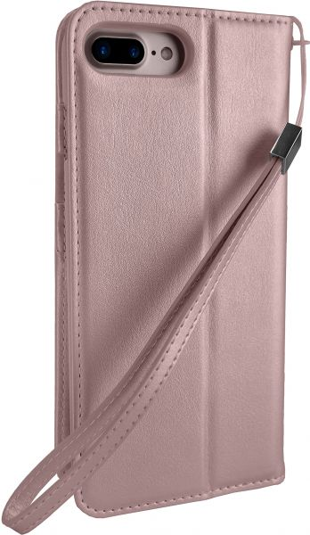free shipping 11a7c d30c5 Silk iPhone 7 Plus/8 Plus Wallet Case - FOLIO WALLET Synthetic Leather  Portfolio Flip Card Cover with Kickstand -Keeper of the Things - Rose Gold