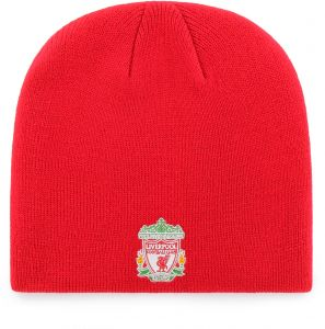 638d75fa OTS International Soccer Liverpool EPL Beanie Knit Cap, Red, One Size