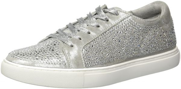 cf2eecdb069 Kenneth Cole New York Women s Kam Shine Lace-up Embellished Sneaker ...