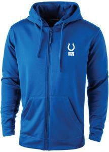 Dunbrooke Apparel NFL Indianapolis Colts adult Trophy Polyester Tech Fleece  Full Zip Hoodie e82adda62