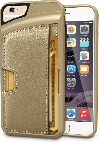 newest c7a1d 37b67 Silk iPhone 6/6s Wallet Case - Q CARD CASE [Slim Protective CM4 Credit Card  ID Phone Cover] - Wallet Slayer Vol.2 - Champagne Gold