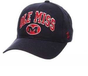 quality design 96983 8d498 NCAA Mississippi Old Miss Rebels Men s The Sport Headwear, Adjustable, Navy