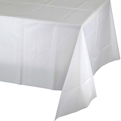 Creative Converting 910272 Celebrations Plastic Table Cover 54 X
