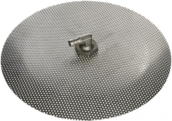 "Stainless Steel Domed False Bottom - Select a Size ‫(12"", 10"" or 9"") ‫(10"")"