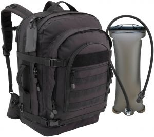 10849b2098cb Mercury Tactical Gear Blaze Bugout Bag With Hydration Pack Backpack