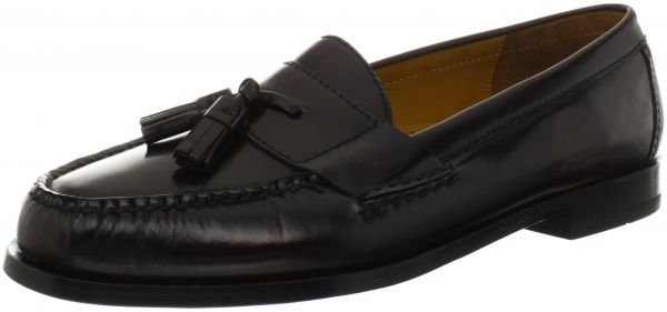 Cole Haan Men Size 11.5 D M Cordovan Leather Pinched Tassel Loafer Slip On Shoes Clothing, Shoes & Accessories