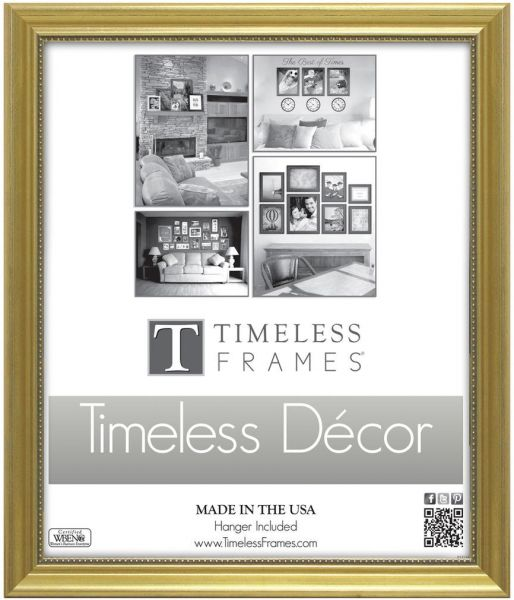 Timeless Expressions Astor Wall Frame 10 X 13 Gold Souq Uae