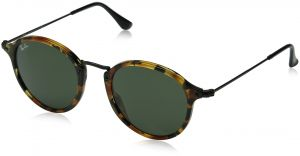 e287bd4a97a54 Ray-Ban Acetate Man Sunglasses - Spotted Black Havana Frame Green Lenses  49mm Non-Polarized