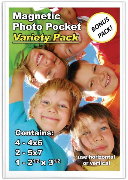 Magtech Magnetic Photo Pocket Picture Frame Variety Pack 6 Pack