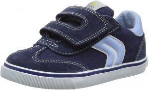 factory outlet newest collection so cheap Geox Boys' Baby Kiwiboy 80 Sneaker, Navy/Light Blue, 26 BR/9 M US ...