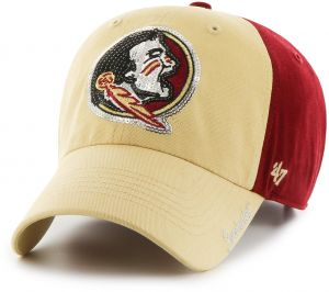 be798228c0d NCAA Florida State Seminoles Women s Sparkle Two Tone Clean Up Adjustable  Hat