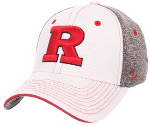 competitive price 67e8d 8c630 Zephyr NCAA Rutgers Scarlet Knights Adult Men Equinox Hat, X-Large,  White Heather Gray   Souq - UAE