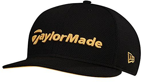 TaylorMade Golf 2017 performance new era 9fifty hat black yellow ... c6d71490f15