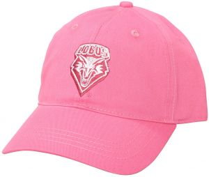 separation shoes 46b37 a21f3 Ouray Sportswear NCAA New Mexico Lobos Small Fit Epic Cap, Adjustable Size,  Dark Pink
