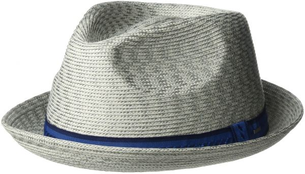 Bailey of Hollywood Men s Mannes Braided Fedora Trilby Hat f9808b393a60
