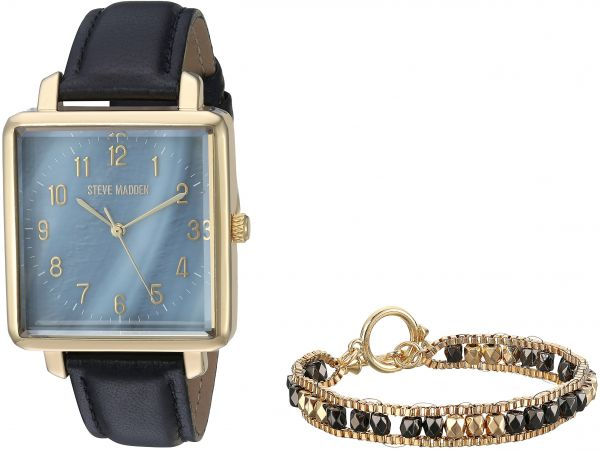 5abbaa0b509 Steve Madden Men s Quartz Gold-Tone Casual Watch