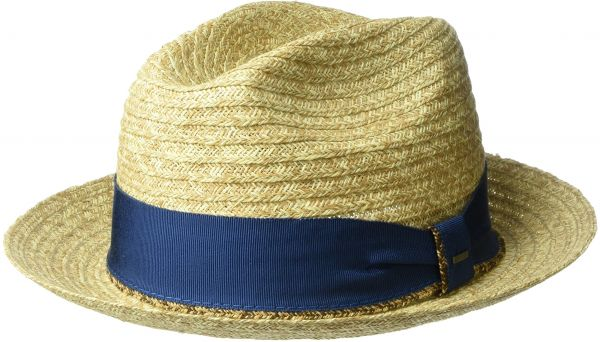 0a42c78a78c Bailey of Hollywood Men s Romeo Braided Straw Fedora Trilby Hat ...