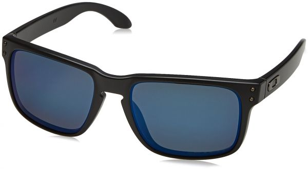 efce5891b1 Oakley mens Holbrook OO9102-52 Iridium Polarized Sport Sunglasses ...