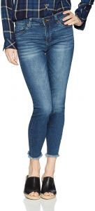 7cabb43e4bd KUT from the Kloth Women's Connie Ankle Skinny-Fray Hem Jean, Rescue, 6