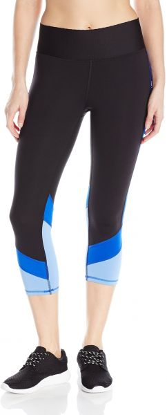 2d699ef42b7f Champion Women s Absolute Colorblock Capri Legging with SmoothTec Waistband