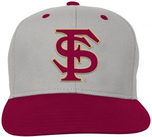 brand new 8d678 1aa0c NCAA Florida State Seminoles Kids   Youth Boys Grey Two Tone Flatbrim  Snapback Hat, Grey, Youth One Size