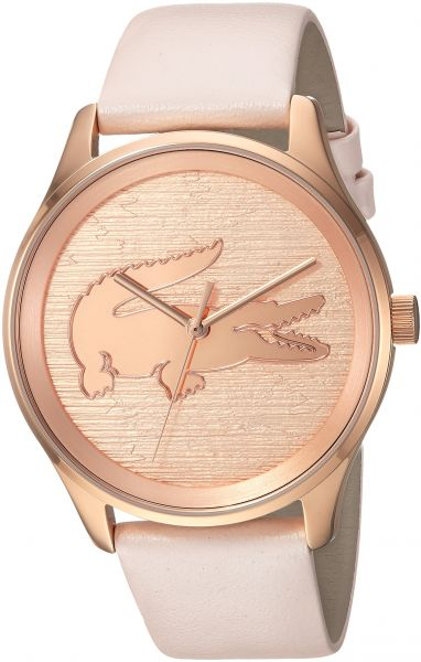 Lacoste Women s  Victoria  Quartz Stainless Steel and Leather Casual Watch 8be33acbcc