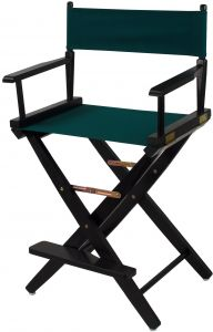 Surprising American Trails Extra Wide Premium 24 Directors Chair Black Frame With Hunter Green Canvas Counter Height Caraccident5 Cool Chair Designs And Ideas Caraccident5Info