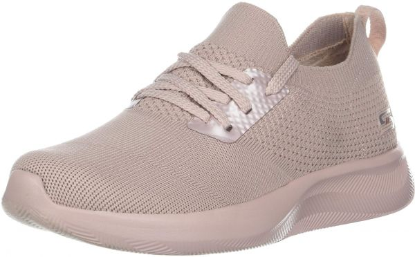 78bc4c01bf29 Skechers BOBS Women's Squad 2. Sock fit Slip on Engineered Knit Memory Foam  Sneaker, pnk, 9.5 M US | KSA | Souq