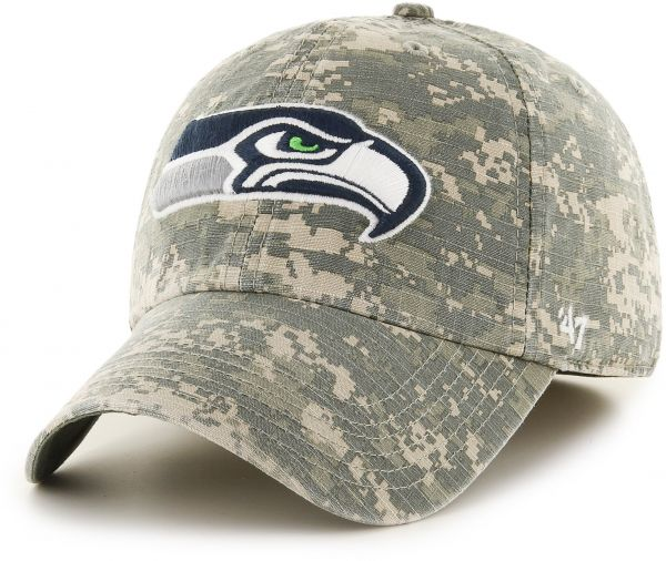 b1ad6320f  47 NFL Seattle Seahawks Officer Franchise Fitted Hat