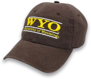 ef19ef69ec2 The Game NCAA Wyoming Cowboys Adult Classic Adjustable Hat
