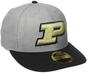 New Era NCAA Purdue Boilermakers Adult Change Up Redux Low Profile 59FIFTY  Fitted Cap 95b8c8153ed3