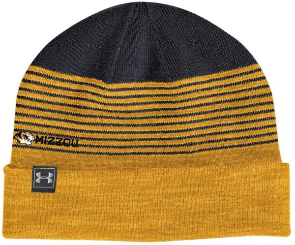 Under Armour NCAA Missouri Tigers 4 in 1 Reversible Beanie 6240b58d8ceb
