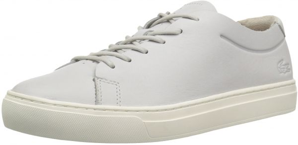 light White Greyoff L 12 Women's Unlined Sneakers Lacoste 12 Y8xfTSw
