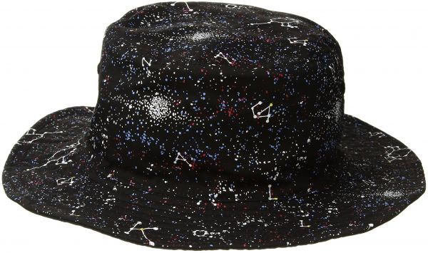Kangol Men s Reversible Bucket Hat with Comet Design 1ddc060bfc47