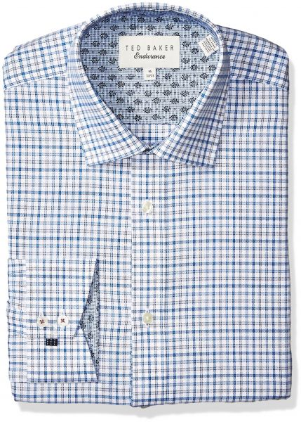 f83c298962b19f Ted Baker Men s Welsh Slim Fit Dress Shirt