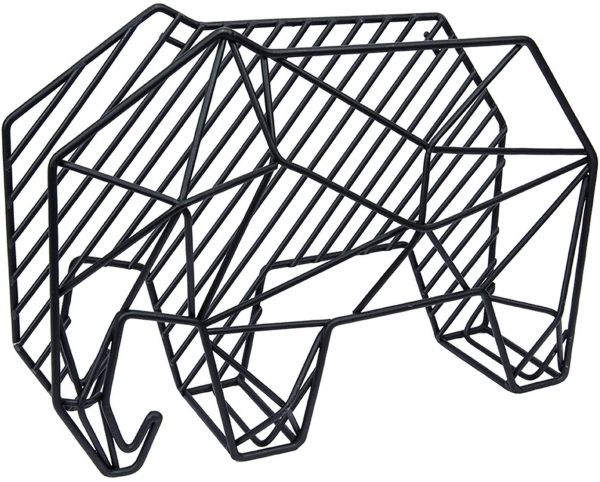 OfficeWorks Office Works, Elephant Geo Wire Desk Organizer and Memo ...