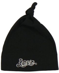 1d7f8bb73f74d Rattle Me Organic Beanie Love Black