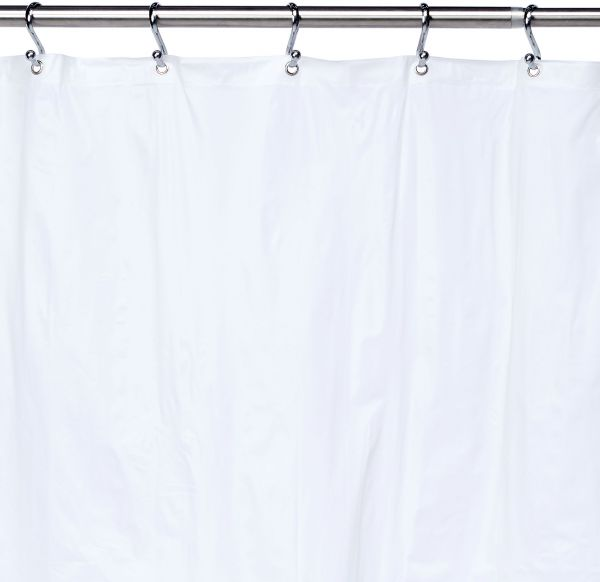Ex Cell Eco Soft Shower Curtain Liner Frosty